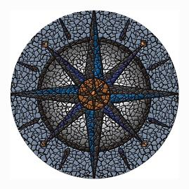 Compass Pool Mat
