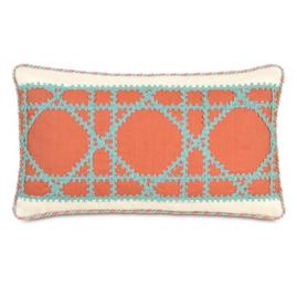 Captiva Lattice Decorative Pillow