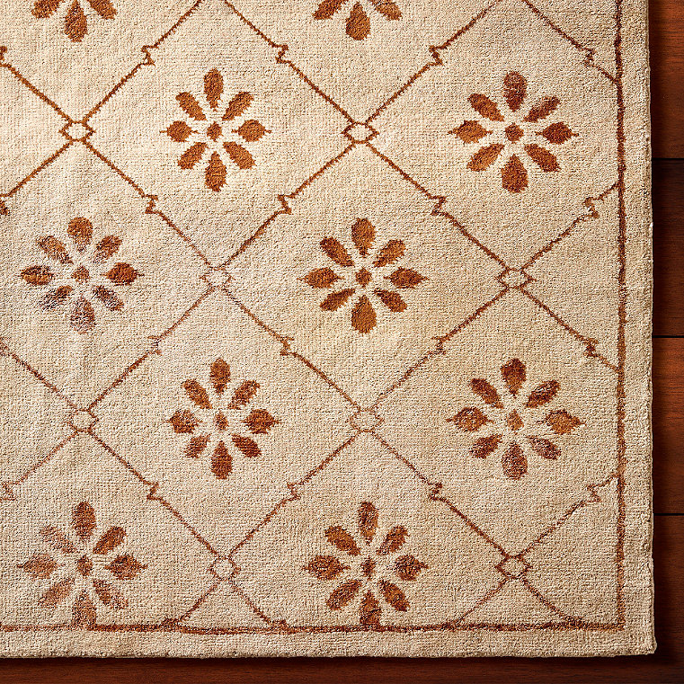 Hand knotted wool area rugs frontgate - How to make a wool accent rug work for your space ...