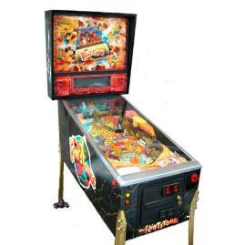 Refurbished Flintstones Pinball Machine