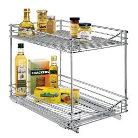 Roll Out Double Drawer Organizer