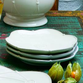 Meridian Bread and Butter Plates, Set of Four