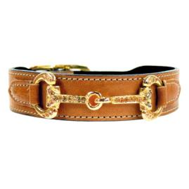 Hartman and Rose Horse & Hound Dog Collar