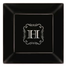 Premium Square Personalized Dinner Plates