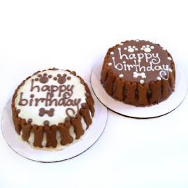 Personalized Happy Birthday Dog Cake