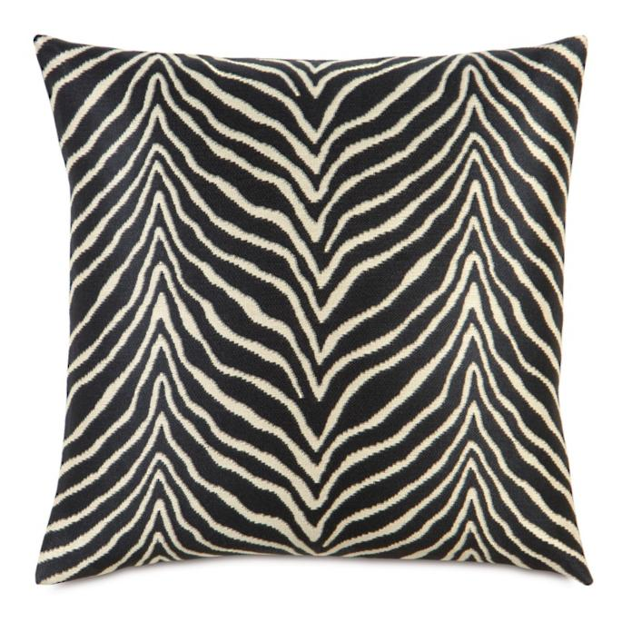 Scalamandre Zebra Euro Decorative Pillow - Frontgate
