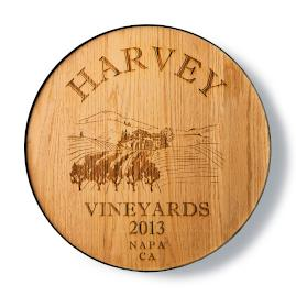 Personalized Wine Room Plaque