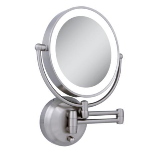 Lighted Wall Mount Makeup Mirror next generation led lighted wall mount mirror | frontgate