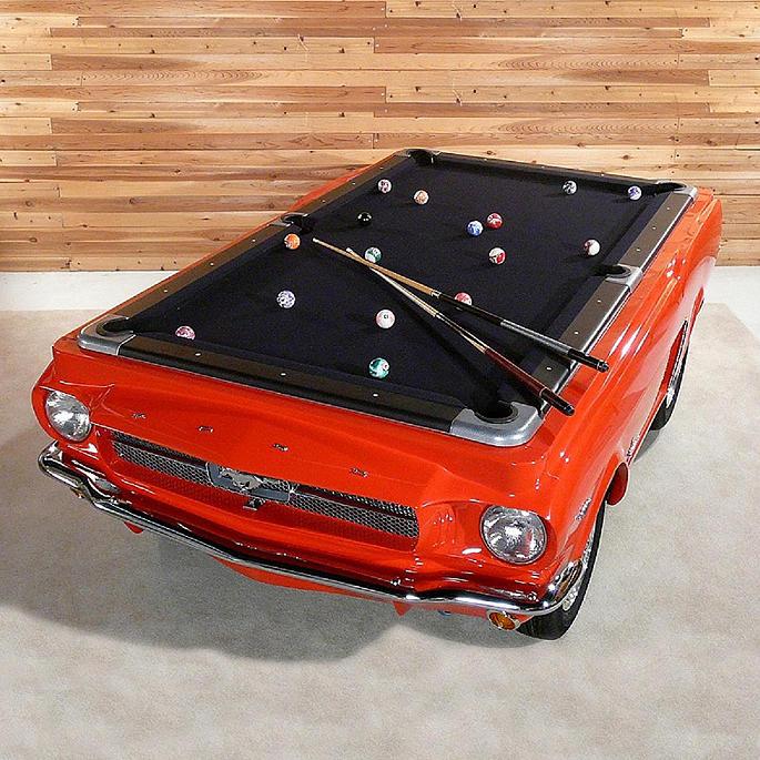 1965 Mustang Car Pool Table