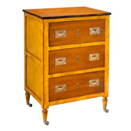 Small Chest/Night Table in Yellow