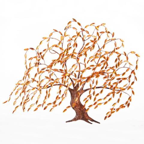 Copper Wall Art windswept pine wall artcopper art | frontgate