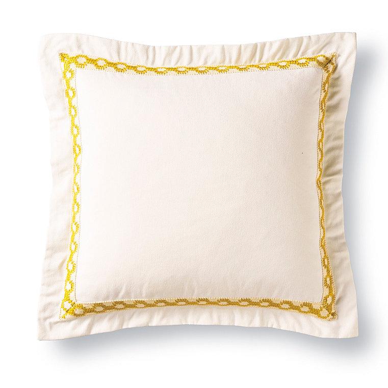 100% Cotton Vibrant Decorative Pillow - Frontgate