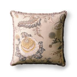 Canterbury Pleated Ribbon Decorative Pillow
