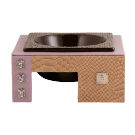 Mojave Tan Lavender Limited Dog Bowl