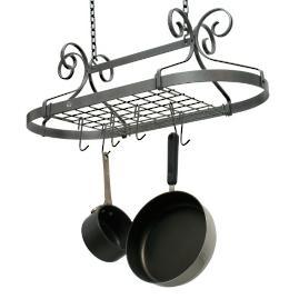 Enclume Scrolled Oval Pot Rack