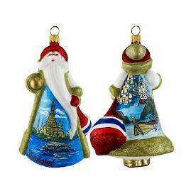 Glitterazzi International Thailand Santa Ornament