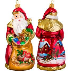 Bratislava Santa Yule Log Ornament