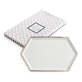 Luxe Hexagonal Tray