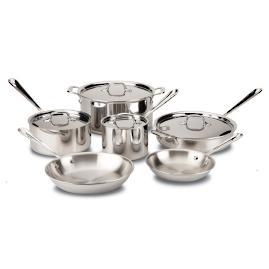 All-Clad 10-pc. Copper Core Cookware Set
