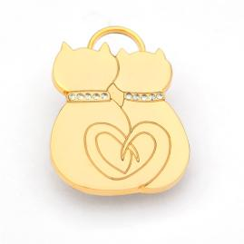 Cat Lovers Cat ID Tag
