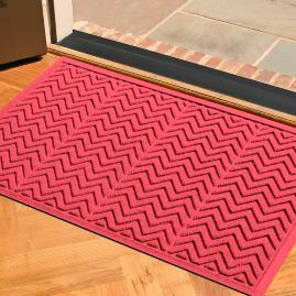 Chevron Water & Dirt Shield Mat
