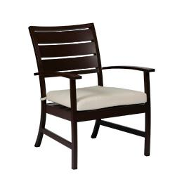 Charleston Euro Lounge Chair with Cushion by Summer