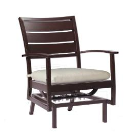 Charleston Spring Lounge Chair with Cushion by Summer