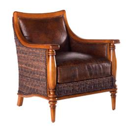 Tommy Bahama Agave Leather Chair