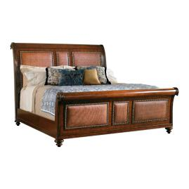 Tommy Bahama Palmera Sleigh Bed