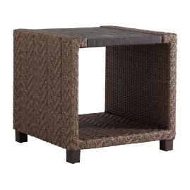 Tommy Bahama Blue Olive Square End Table