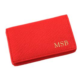 Personalized Hard Business Card Case