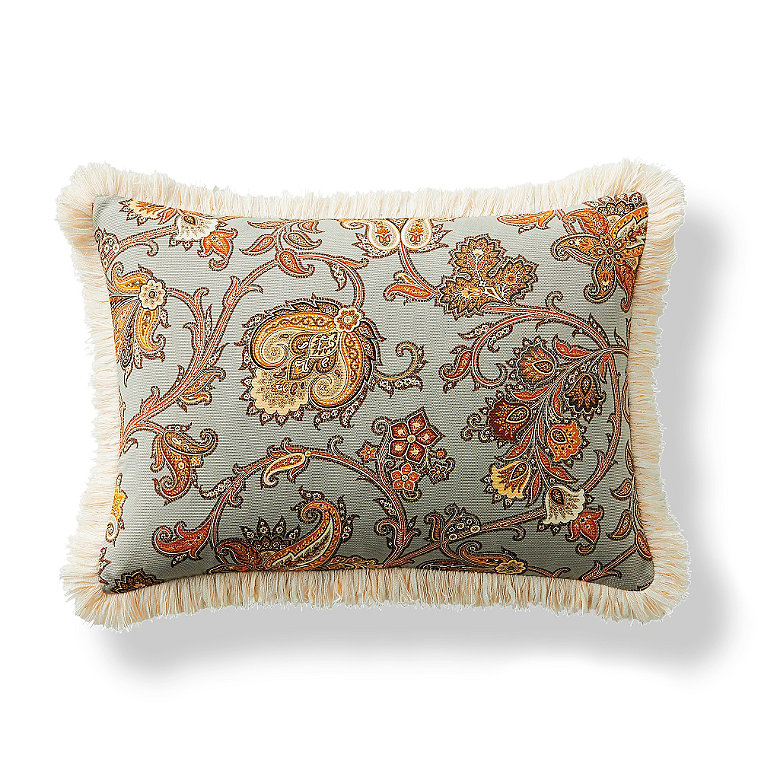 Decorative Pillows With Fringe : Fringe Zippered Decorative Pillow - Frontgate