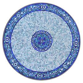 Seafoam Atlas Round Bistro Table