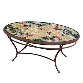 Caramel Hummingbird Round Bistro Table