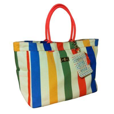 Summer Stripe Tote Bag Frontgate