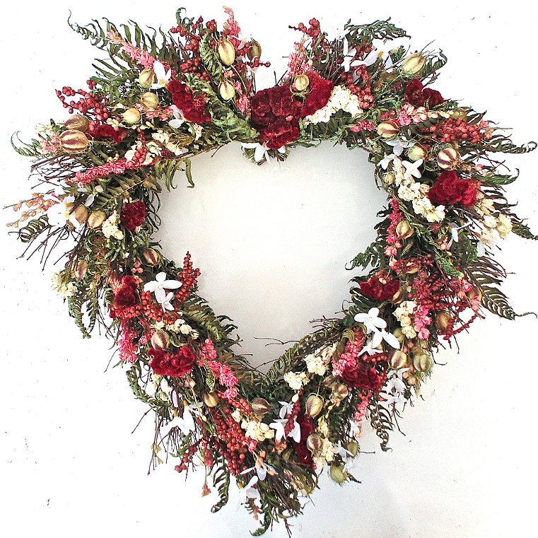 Floral Outdoor Wreath Frontgate