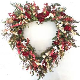 Everlasting Heart Wreath