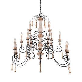Provence 15-light Chandelier