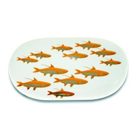 Caskata School of Fish Oval Platter