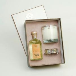 Antica Farmacista Ala Mona Diffuser & Candle Set