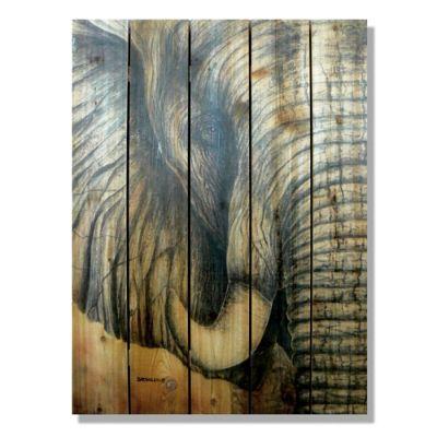 Elephant Cedar Wall Art Frontgate