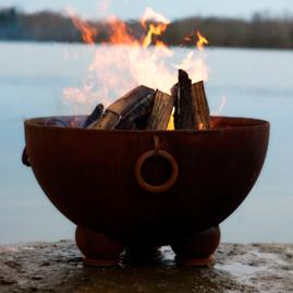 Nepal Fire Pit by Firepit Art