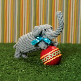 Coco the Elephant Dog Rope Toy