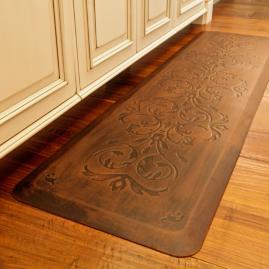 Classic Scroll Anti-fatigue Kitchen Comfort Mat