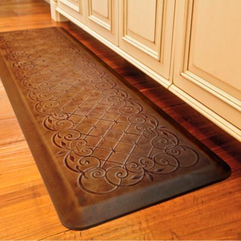 trellis scroll anti fatigue kitchen comfort mat. Interior Design Ideas. Home Design Ideas