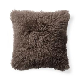 Tibetan Sheepskin Decorative Pillow