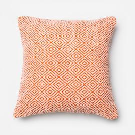 Modern Maze Throw Pillow