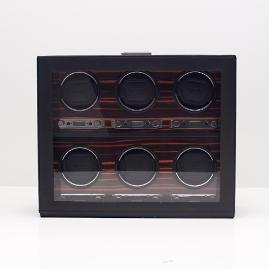 Roadster 6-pc. Watch Winder with Storage
