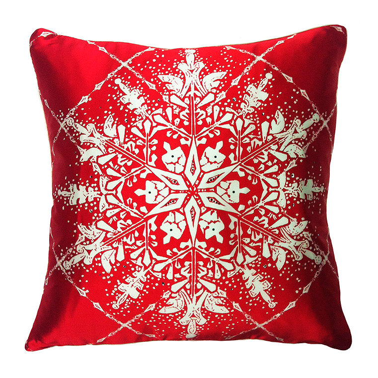Swarovski Crystals Pillow
