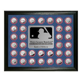MLB Framed Coin Collection